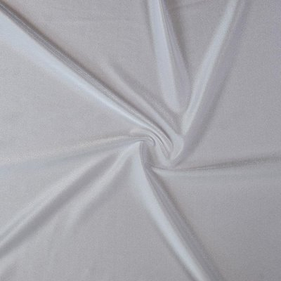 COUPON 25cm Witte lycra voeringsstof €12,50 p/m