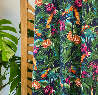 Atelier Jupe - Tropical parrot COTTON-STRETCH €26,5 p/m