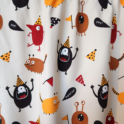 Mieli Design - Hurray it's my birthday! €25,50 p/m FRENCH TERRY (organic)