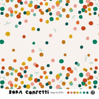 Lillestoff - Bora Confetti JERSEY €21,30 p/m GOTS