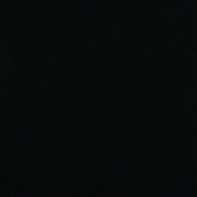 Verhees GOTS  - Black RIBBED Boordstof €9,50 p/m