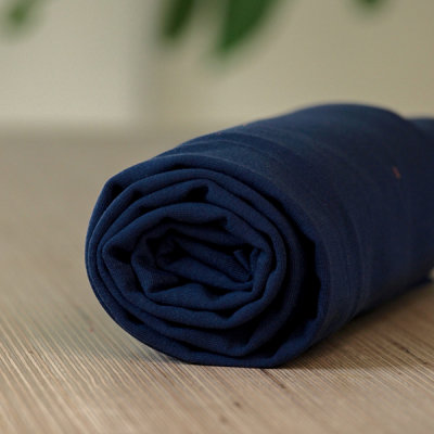 COUPON 40cm meetMilk - Stretch Jersey - Blueberry met TENCEL™ Lyocell vezels €21,50 p/m