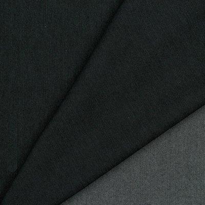VERHEES Recycled Denim / Jeansstof  BLACK STRETCH - €12,90