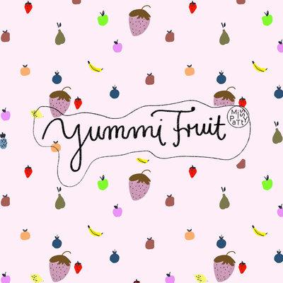 Lillestoff - Yummi fruit JERSEY €21,30 p/m GOTS