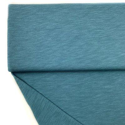 Lillestoff - Rauch blauw SLUB KNIT €18,90 p/m GOTS