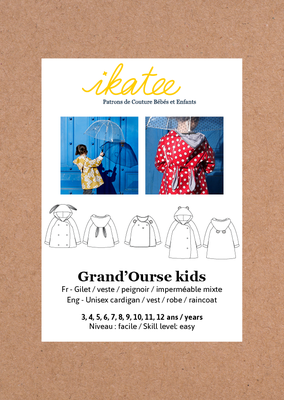 Ikatee - Grand'ourse Cardigan - Kids 3/ 12 jaar