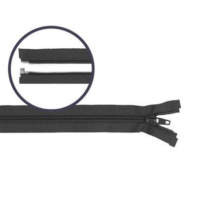 Deelbare spiraal rits 50cm Grijs €4,50