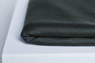 COUPON 150 CM meetMilk - TEXTURED PONTE KNIT - DEEP GREEN met LENZING™ TENCEL™ vezels €28,30 p/m