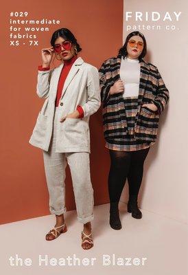 Friday Pattern Co. - Heather Blazer €19,95