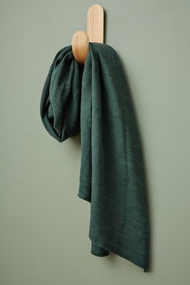 meetMilk - Hoya DEEP GREEN Jacquard-linnen met TENCEL™ Lyocell vezels €31,50 p/m