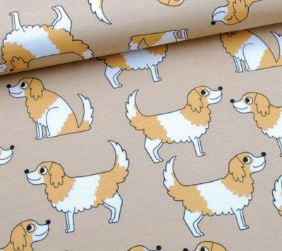 Eva Mouton - Doggy beige Jersey  €22,90 p/m
