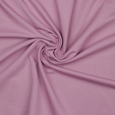 Verhees GOTS  - LAVENDER Solid €12,90 p/m french terry