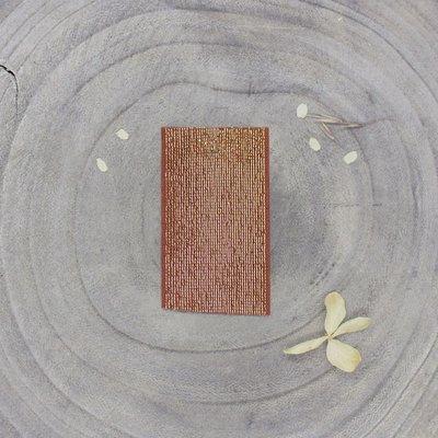 Atelier Brunette - Goud/Chestnut elastiek