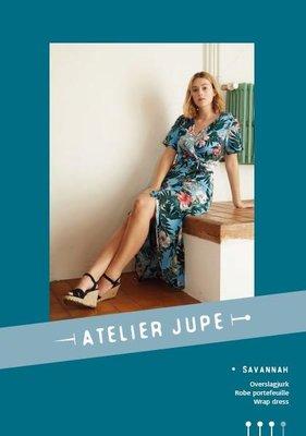 Atelier Jupe - Savannah wrapp dress patroon €16,50 p/m