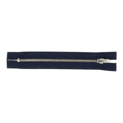 Jeans rits 16 cm donkerblauw - Opti