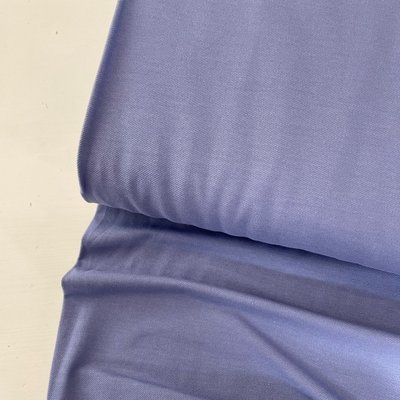 Polytex Organics - Lavendel jeans jersey  (GOTS) €16