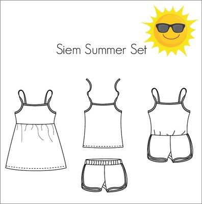 Bel'Etoile - Siem summer set kids mt 98-164