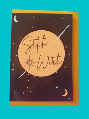 Sew Anonymous -  Kaart Stitch Witch €3,50 p/s