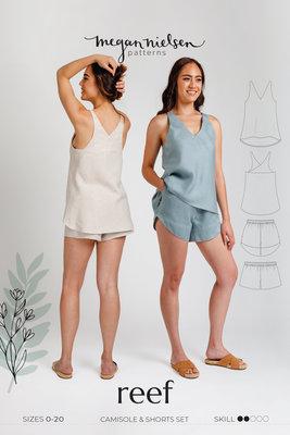 Megan Nielsen - Reef camisole en shorts set €19,95