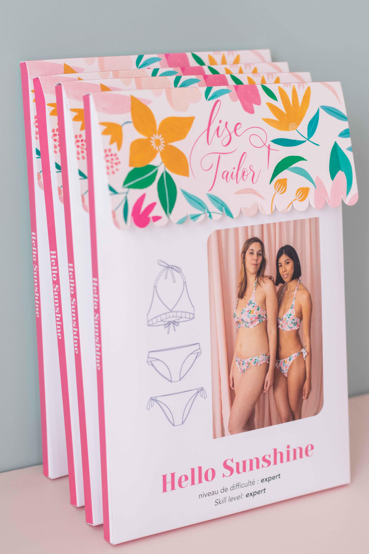 Lise Tailor - Hello Sunshine Bikini NAAIPATROON €16 p/s