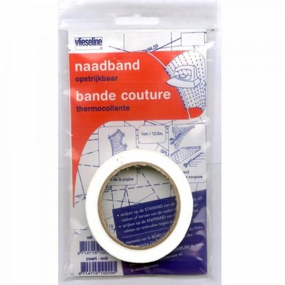 Vlieseline naadband 10mm wit €2,45 p/stuk