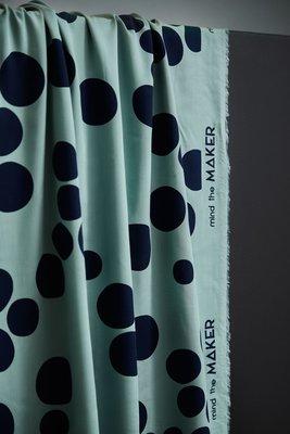 mindtheMAKER - About a Dot Sage green 100%LENZING™ECOVERO™ Viscose €19,50 p/m