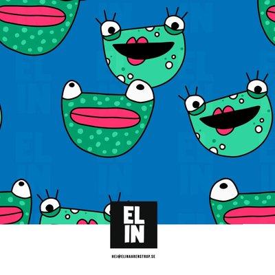 Elin Aarenstrup - Frog Blue JERSEY €26,50 p/m