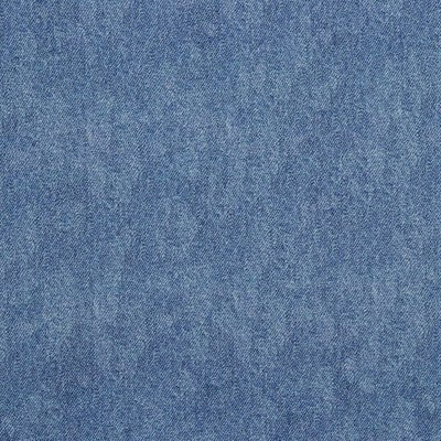 COUPON 75 CM Verhees GOTS  - Light Blue Denim look €15,90 p/m french terry(GOTS)