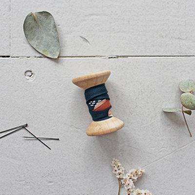 Atelier Brunette - Moonstone green BIASband