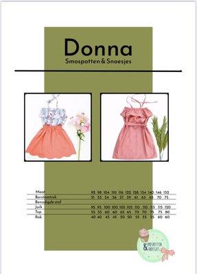 Smospotten&Snoesjes - Donna mt 92-152 €15