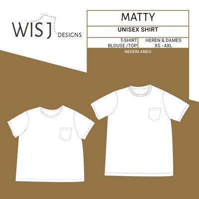 WISJ - Matty shirt unisex  €12