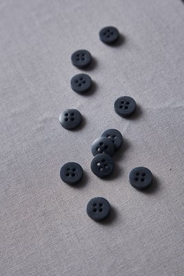 meetMilk 11mm corozo DUSTY BLUE