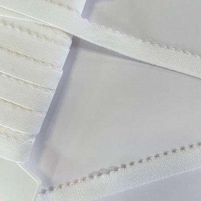 Schouderband elastiek WIT 15mm  €0,95 p/m