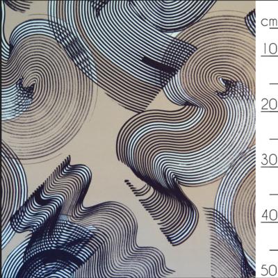 Mereen - Ocean Floor Latte € 26,50 p/m french terry (organic)