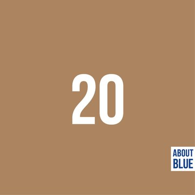 About Blue - Indian Tan BOORDSTOF 12,90 p/m