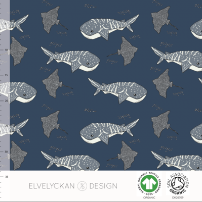 Elvelyckan  - Whale Shark Dark Blue 015 COLLEGE €25,50 p/m