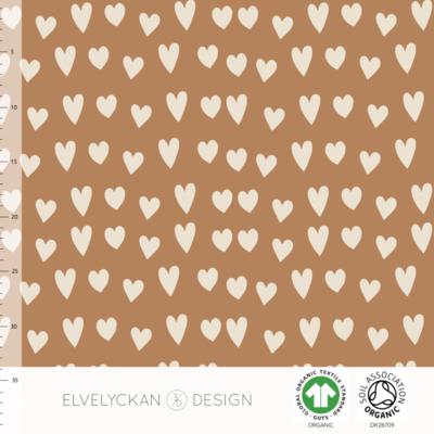 Elvelyckan  - Hearts Toffee 57  JERSEY €23 p/m