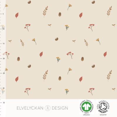 Elvelyckan  - Fall Adventure Creme 27 RIBBED KNIT €23 p/m
