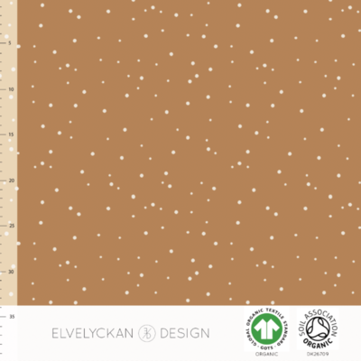 Elvelyckan  - Spots Toffee 57 RIBBED KNIT €23 p/m