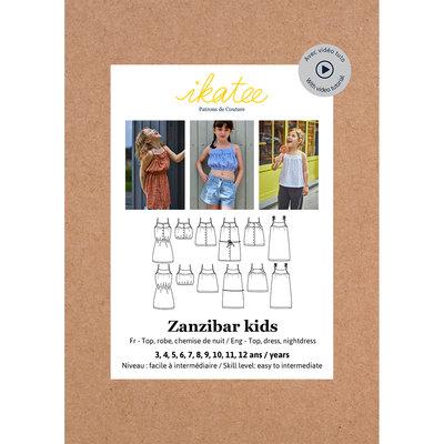 Ikatee - Zanzibar top&dress kids -  3/12j