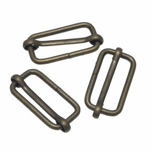 Bronzen metalen schuifgesp 30mm