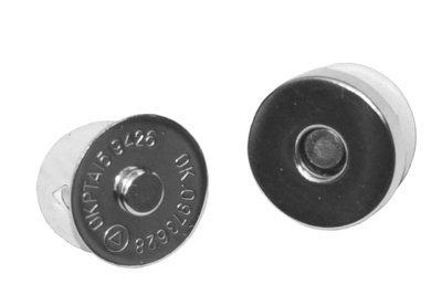 Zilver magneetsluiting 18mm