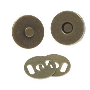 Brons magneetsluiting 18mm