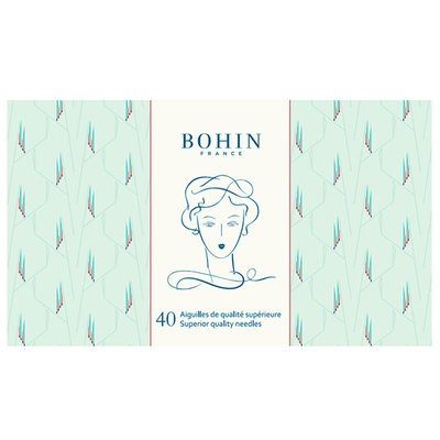 Bohin Naaldboekje GREEN EDWIGE €12,95