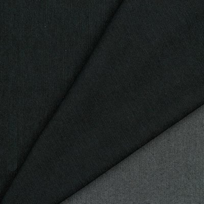 COUPON 140 CM VERHEES Recycled Denim / Jeansstof  BLACK STRETCH - €12,90