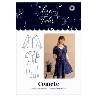 Lise Tailor - Comete NAAIPATROON €16 p/s