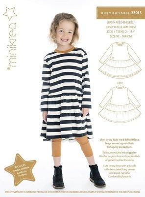 Minikrea Jersey ruffle dress 33015