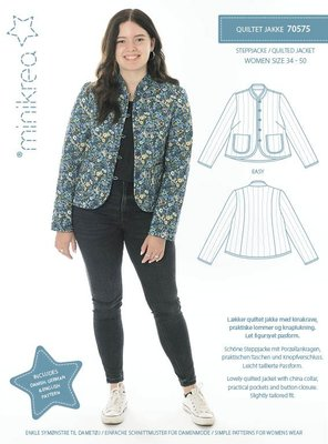 Minikrea Dames Quilted jasje 70575
