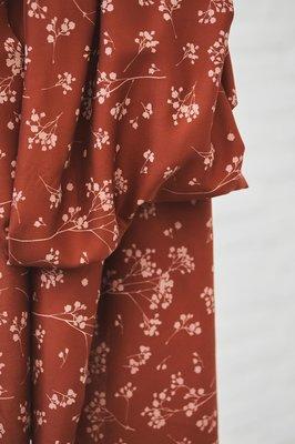 COUPON 70cm mindtheMAKER - Stalks Sienna 100%LENZING™ECOVERO™ Viscose €19,50 p/m