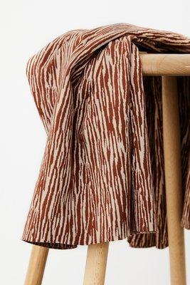 mindtheMAKER - Organic Bark JACQUARD sienna dune €28,50 p/m
